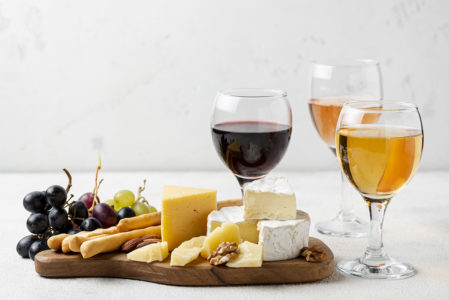 mejores vinos para acompañar quesos